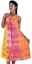 Rayon Summer Dresses 10 Pcs Hippie Summer Casual Beach Dresses - Tie Dye Dresses