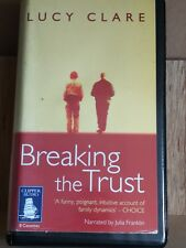 Breaking The Trust by Lucy Clare - Clipper 8 Cassette Unabridged Audio Book