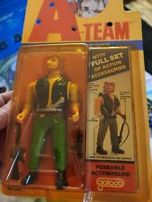 """Vintage The A-Team, The Bad Guys Figure """"Viper"""" by Galoob 1983 Moc"""