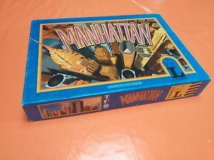 Rare jeu de société Ludodélire Manhattan Complet