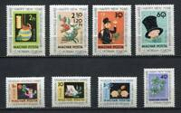 32121) HUNGARY 1963 MNH** Good Luck Symbols 8v.