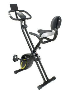 Stationary Exercise Bike Sportia NS-652 I2 Folding Home Gym Training Bike