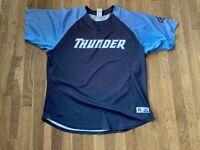 Ryan Bollinger Game Used Trenton Thunder Blue Alternate Jersey Yankees