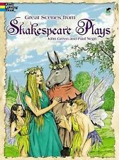 Dover Classic Stories Coloring Book: Great Scenes from Shakespeare's Plays
