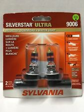 Sylvania 9006 SilverStar Ultra Halogen Headlight Bulb, pack of two