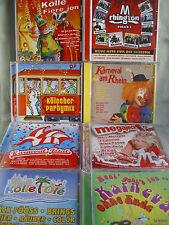Kölsche Karneval- und Fetenmusik- 8 CDs- lesen