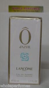 LANCOME O D'AZUR FOR WOMEN 1.6/1.7 OZ/50 ML EAU DE TOILETTE EDT SPRAY NIB