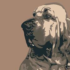 BLOODHOUND DOG FINE ART PRINT