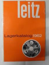 LAGERKATALOG LEITZ 1962