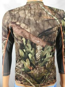 Youth NOMAD Mossy Oak Polyester Hunting Long Sleeve Jersey Shirt Sz YL NEW