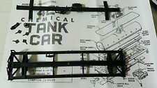 ATHEARN HO 15503,15504 & 15506 UNDERFRAME PARTS 40' CHEMICAL TANK CAR