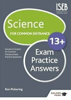 Science for Common Entrance 13+ Exam Practice Answers by Pickering, Ron Book The