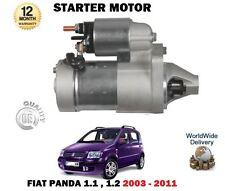 für Fiat Panda 169 1.1 1.2 + Van 2003-12/2011 NEU Anlasser Motoreinheit