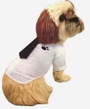 Pet Dog Puppy Shirt Tie clothes Apparel Costume Summer Clothes Dress UK SELLER
