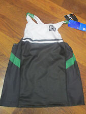 Santini Sms Mens Triathlon Tank Top Large Black Green White