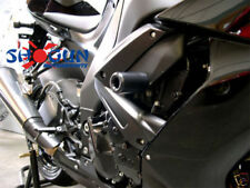 Kawasaki 2008-2010 ZX10R ZX10 Shogun Frame Sliders Cut Version Black