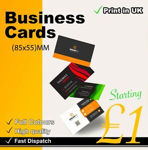 Business Cards - special  personalised Printed Business Cards High Quality