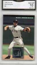 1995-96 DONRUSS ALEX RODRIGUEZ ROOKIE BASEBALL CARD NEW YORK YANKEES