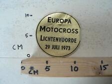 STICKER,DECALEUROPA MOTOCROSS LICHTENVOORDE MX CROSS VINTAGE STICKER 29 JULI 73