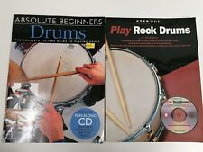 Drum Learning Books For Beginners With Cds, Music Sheets