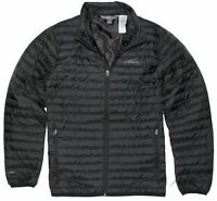 Eddie Bauer Men's Microlight Traveler Down Jacket BLACK sz XL (K3)