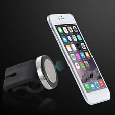 1x Car Suv Air Vent Magnetic Phone Gps Mp3 Holder Mount Stand Black Accessories