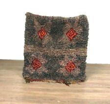 Lovely Shaggy Rug Berber Carpet Handmade Thread Wool  Runner Moroccan 35X31 inch