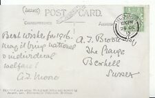 Family History Postcard - Brook? - The Range - Bexhill - Sussex - Ref 1393A