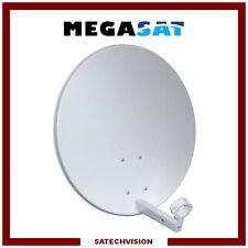 Parabole Acier Ø 60 cm Gris Clair Gain 36 dB Megasat TNTSAT FRANSAT
