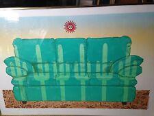 Adolpho Gustavo Martinez 2003 signed print; cactus sofa 20 x 30;dealer