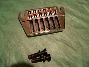 Ovation-Schaller guitar bridge wraparound hardtail