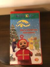 Teletubbies Merry Christmas VHS 1999 Set Rare Vintage Collectible HTF