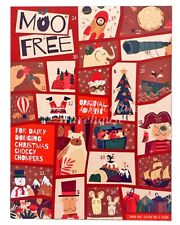 Moofree Kids Milk Choc Advent Calendar 70g