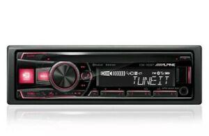 ALPINE CDE-183BT CD MP3 USB Bluetooth AUX Autoradio 4x50 Watt 6-Kanal RCA
