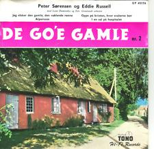 """""""7"""" - PETER SORENSEN og EDDIE RUSSELL - DE GO`E Gamle 2 - EP aus Dänemark"""