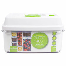 1.6 Litre Vacuum Seal Pump Fresh Container Lunch Box Food Storage Box Canister