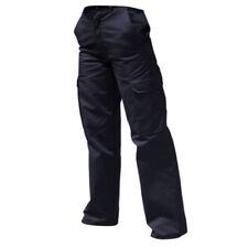 Pantaloni da donna cargo blu taglia 42