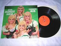 LP - Geschwister Jacob Aus der Jugenzeit A Go Go - 1969 + AUTOGRAMME # cleaned