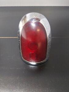 Original 1951 Kaiser 2 Door RH LH Tail Light Bezels and Lens