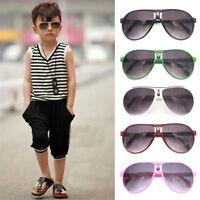 Kids ANTI-UV Sunglasses Girls  Boys Outdoor Eye Glasses Shades Goggles Eyewear