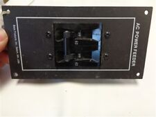 BASS CARLING SWITCH AC POWER FEEDER BREAKER PANEL 60 AMP 96-2146/60 MARINE BOAT