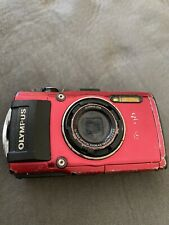 Olympus Tough Model: TG-4 16.0MP Red Digital Camera AS IS FOR PARTS