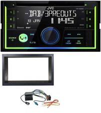 JVC Bluetooth DAB CD MP3 2DIN USB Autoradio für VW Golf IV Polo Passat T4 Fox Qu