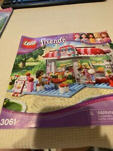 "LEGO  3061 FRIENDS  ""CITY PARK CAFE""  Building Manual"