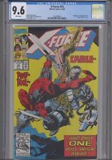 X-Force #15  CGC 9.6 1991 Marvel  Comic: Dead-Pool & Cable Cover: NEW Frame