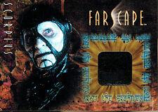 FARSCAPE SEASON TWO COSTUME CARD CC7 SCORPIUS, THIN VARIENT