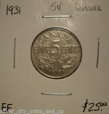 Canada George V 1931 Five Cents -  EF