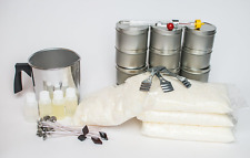 Diy Custom Complete Soy Candle Wax Making Kit with Wick