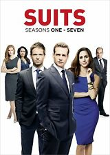 Suits Series complete season 1, 2, 3, 4, 5, 6 & 7 DVD Box Set New Sealed TV