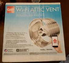 Master Flow GAF Power Wi-Fi Attic Vent Fan EGV5SMT 1450CFM Adjustable Thermostat